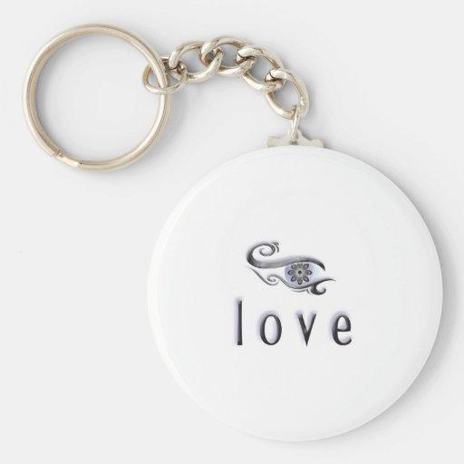 amor llaveros personalizados