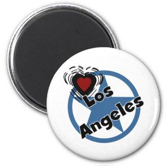 Amor Los Ángeles Imán Redondo 5 Cm