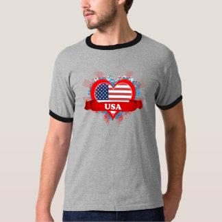 Amor los E.E.U.U. del vintage I Camisas