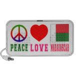 Amor Madagascar de la paz Altavoces