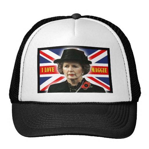 Amor Maggie de Margaret Thatcher I Gorros Bordados