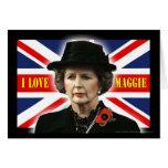 Amor Maggie de Margaret Thatcher I Tarjetas