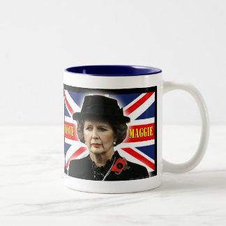 Amor Maggie de Margaret Thatcher I Taza De Dos Tonos