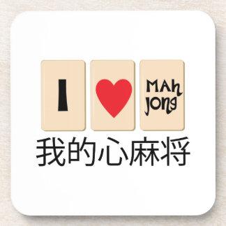 Amor Mah Jong Posavasos