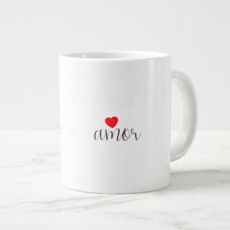 Bigger love giant coffee mug
