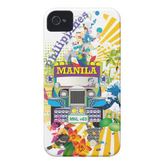 Amor Manila, Filipinas Carcasa Para iPhone 4 De Case-Mate
