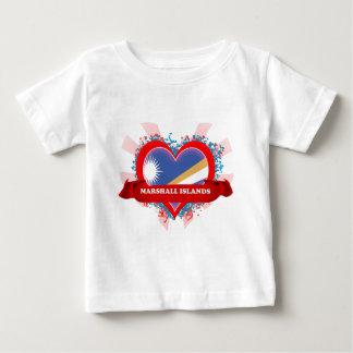Amor Marshall Islands del vintage I Playera
