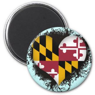 Amor Maryland del vintage I Iman De Nevera