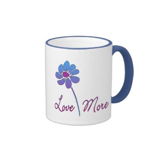 Amor más tazas de café