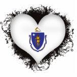 Amor Massachusetts del vintage I Escultura Fotografica