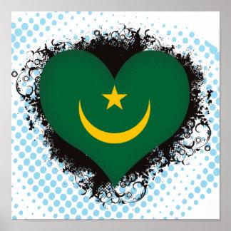 Amor Mauritania del vintage I Impresiones