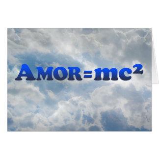 Amor = mc2 - Multi-Products Card