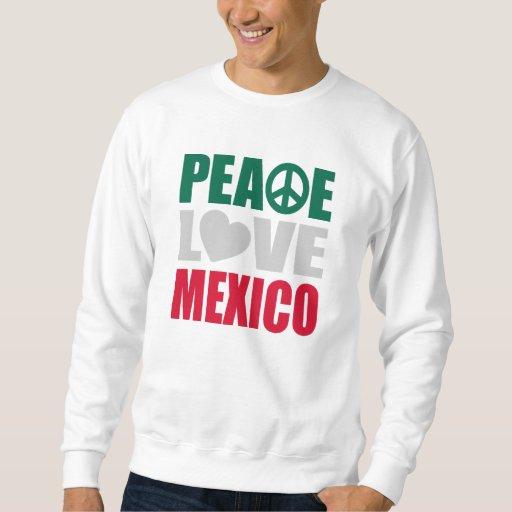 Amor México de la paz Suéter