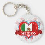 Amor México del vintage I Llaveros Personalizados