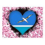 Amor Midway Islands del vintage I Postal