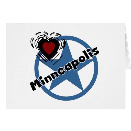 Amor Minneapolis Tarjetas