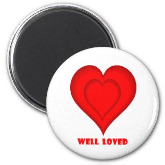 Amor - modificado para requisitos particulares imán de frigorífico
