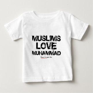 Amor Mohamed de los musulmanes Playera
