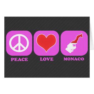 Amor Mónaco de la paz Felicitaciones