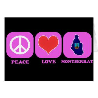 Amor Montserrat de la paz Tarjetas
