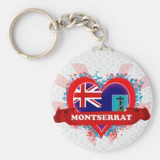 Amor Montserrat del vintage I Llaveros Personalizados