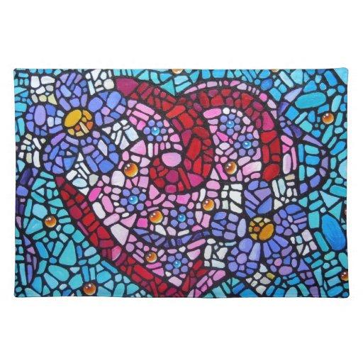 Amor Mossaic Mantel Individual