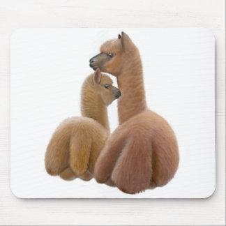 Amor Mousepad de la alpaca