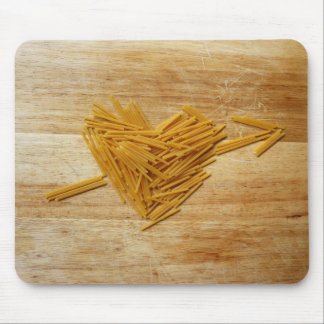 Amor Mousepad de los espaguetis Alfombrilla De Raton