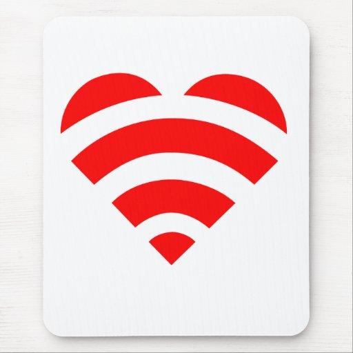 Amor Mousepad de Wifi