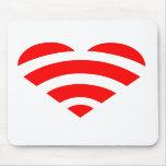 Amor Mousepad de Wifi Alfombrilla De Ratones