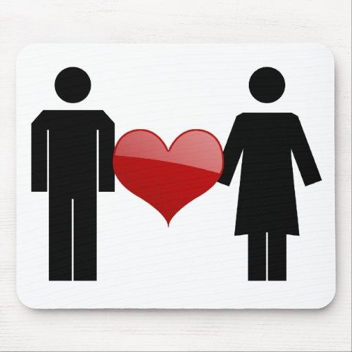 Amor Mousepad del cartel Tapete De Ratones