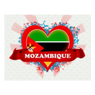 Amor Mozambique del vintage I Postal