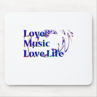 Amor Music.png Alfombrilla De Raton