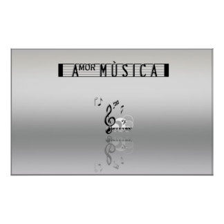 Amor Musica Poster