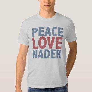 Amor Nader de la paz Poleras