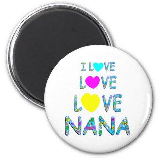 Amor Nana del amor Imán Redondo 5 Cm