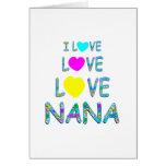 Amor Nana del amor Tarjeton