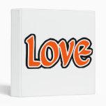 Amor naranja-rojo