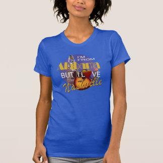 Amor Nashville de la camiseta del jersey de las