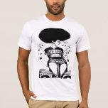 Amor natural del Afro de la camiseta de la
