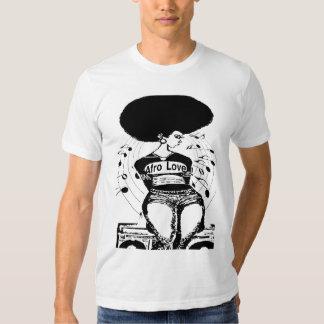 Amor natural del Afro de la camiseta de la Remera