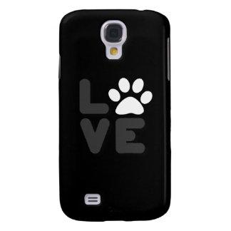 AMOR - negro/Gry Funda Para Galaxy S4