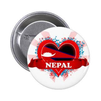 Amor Nepal del vintage I Pins