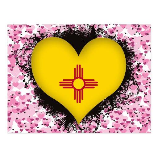 Amor New México del vintage I Tarjetas Postales