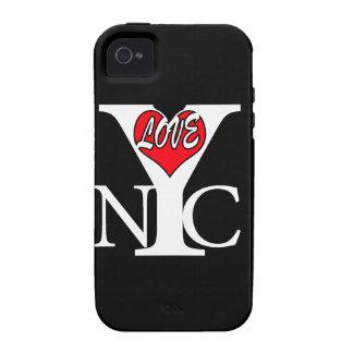 Amor New York City, rwb iPhone 4 Carcasa