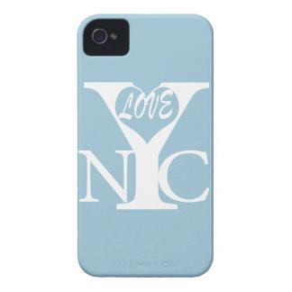 Amor New York City w iPhone 4 Case-Mate Carcasas