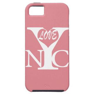 Amor New York City w iPhone 5 Case-Mate Cárcasas