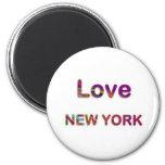 AMOR NewYork Nueva York Imán De Frigorífico