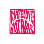 Amor, no guerra postal