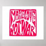Amor, no guerra poster